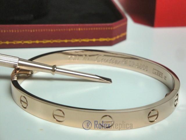 scarpe sportive e0681 c0fee Cartier replica gioiello bracciale love oro rosa